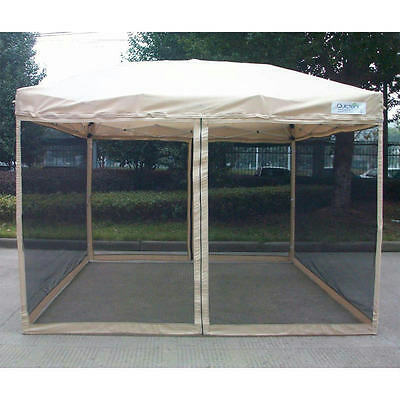Quictent 10x10 Ez Pop Up Gazebo Party Tent Canopy mesh Screen With Carry Bag  sc 1 st  PicClick & QUICTENT 10X10 Ez Pop Up Gazebo Party Tent Canopy mesh Screen With ...