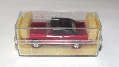 Model Motoring 67 GTO Candy-Apple RED w/ Black Vinyl Top - NOS - Now RARE
