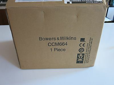 **NEW** Bowers and Wilkins B&W CCM 664 CCM664 In Ceiling Speaker