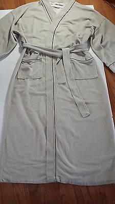 VINTAGE HALSTON ROBE  Beige ONE SIZE FITS ALL