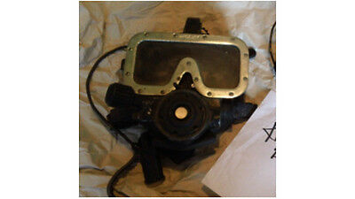 Widolf full face scuba commercial dive mask (Kirby drysuit AGA Navy wetsuit tank