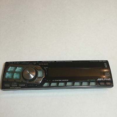 Alpine CDA-9811 CD Player In Dash Receiver STEREO FACEPLATE ONLY!!