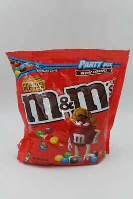 Peanut Butter M&M's 46 oz XXL American Sweet Chocolate m&ms by American Goodies