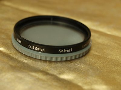 GENUINE ORIGINAL HASSELBLAD Carl Zeiss Softar 1 B57 Filter B50 BAYONET with CASE