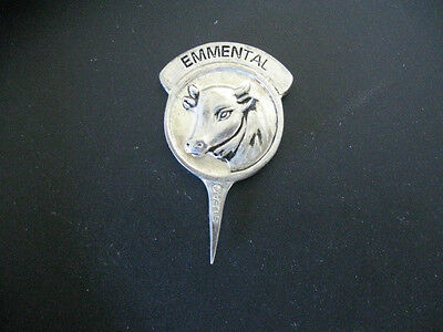 Vintage SILEA  French Cheese Marker EMMENTAL collectible estate find