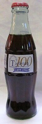 Coca-Cola Tarleton State University 100 Years of Excellenc COKE Bottle