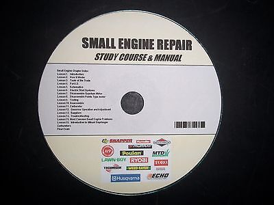 Small Engine Repair Course and Study Guide