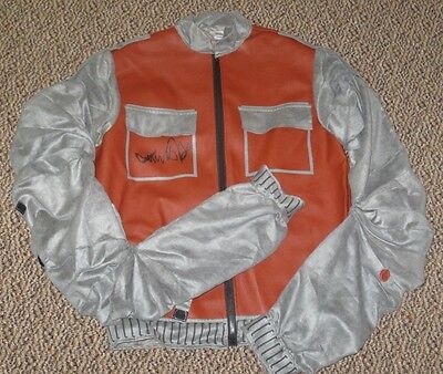MICHAEL J FOX SIGNED BACK TO THE FUTURE MARTY MCFLY JACKET AUTOGRAPH PSA/DNA COA