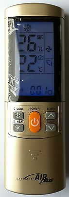 Replacement Universal Airwell  Air Conditioner Remote Control Full Function Rc-7