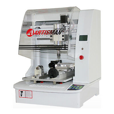 Artisman Small Size Four Axes CNC Router Micro Engraving Machine Phone Carving