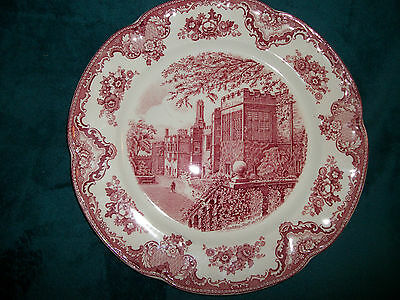 """Johnson Brothers Hadden Hall plate measures 12"""""""