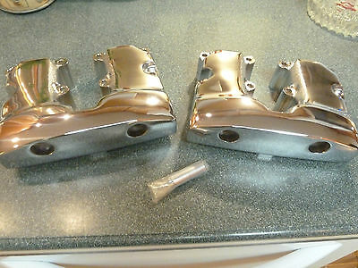 Chrome Rocker Arm Cover For Harley Davidson 66-84 Shovelhead. Kustomwerks 71056