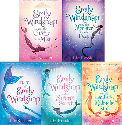 Emily Windsnap Collection Set 1-5 Girls Magical Fantasy Mermaid Book Series NEW!