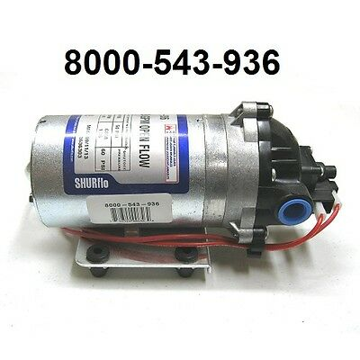 NEW Shurflo 12v Electric RV Water Transfer Pump 1.8 GPM 60 PSI | 8000 543 936