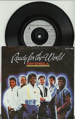 READY FOR THE WORLD-OH SHEILA-I'M THE ONE WHO LOVES YOU-1985//EX+/
