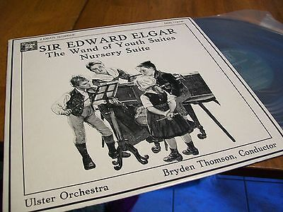 MHS SIR EDWARD ELGAR WAND OF YOUTH & NURSERY SUITES STEREO RECORD ALBUM