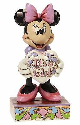 Disney Traditions Minnie Mouse Its A Girl Figure Ornament Figure 15.5cm 4043664