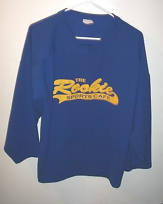 Cool Blue THE ROOKIE SPORTS CAFE Hockey Jersey Man S