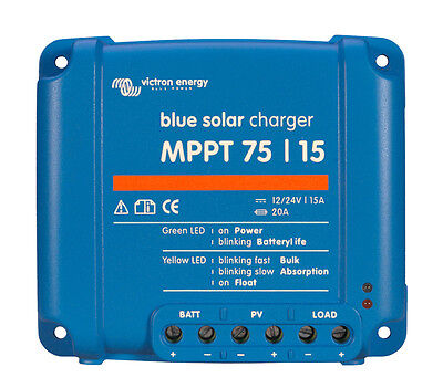 Victron BlueSolar MPPT 75/15 | 15 Amp Solar Charge Controller