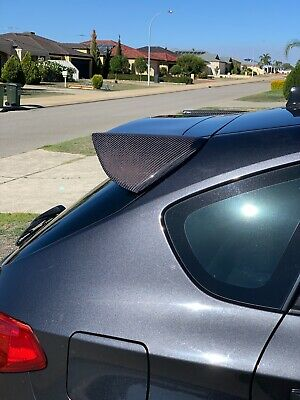 Ultrex Carbon Rear Spoiler For Subaru Impreza Hatch Wrx Rs Sti My08 - My14