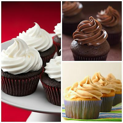 PREMIUM Ready to use Frosting Buttercream Icing- Vanilla Chocolate CARAMEL 900g
