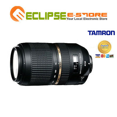 Brand NEW Tamron SP AF 70-300mm F/4-5.6 Di VC USD Lens for Canon