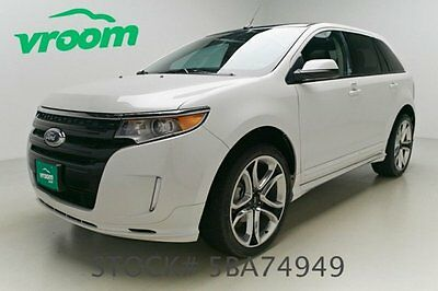 Ford : Edge Sport Certified 2014 ford edge sport 19 k miles nav sunroof one 1 owner clean carfax vroom