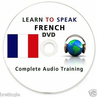 Learn To Speak French - 110 Hours Mp3 Lessons + 10 Books! Complete Course On Dvd