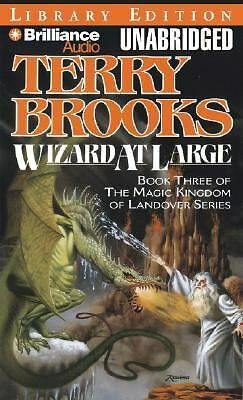 Wizard at Large No. 3 by Terry Brooks (2008, Cassette, Unabridged)