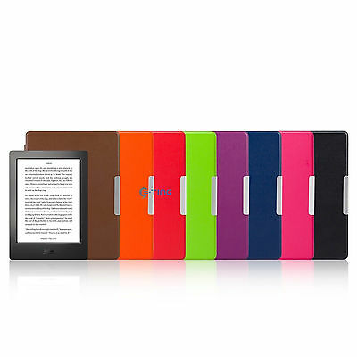 LOT Magnetic Auto Sleep Leather Cover Case + TOUCH PEN For KOBO AURA H2O eReader