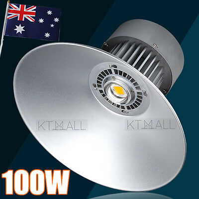 2X LED 100W High Bay Lighting Light Lamp Warehouse Industrial Factory Commercial