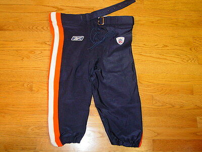 Authentic Reebok Nfl Game Equipment Chicago Bears Football Pants Mens 40 Blue