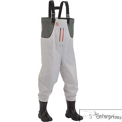 Hodgman Cedar Run breathable insulated no slip sole boot chest waders 9 NEW 7545