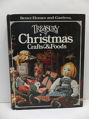 Better Homes & Gardens Treasury of Christmas Crafts & Foods Decorations Book