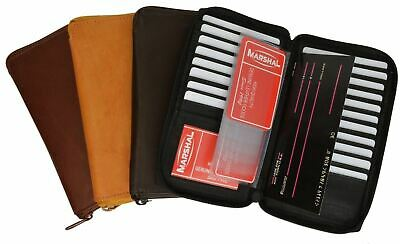 Rfid Credit Card Holder Tall Wallet Zipper New 4 Colors!!!marshal!!!