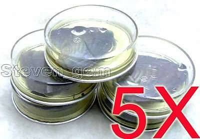 SALE 5 Cans of Wish Pearl Oyster &natural real rice freshwater pearl inside-l526