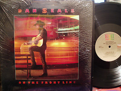 Dan Seals - On The Front Line LP VG+ Condition