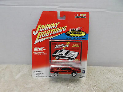 Johnny Lightning The Lost Toppers Custom Charger Die Cast Metal Car MOC 2001!