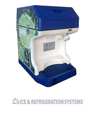Alamo Commercial Ice Cube Crusher Shaver Snow Cone Machine Is-45
