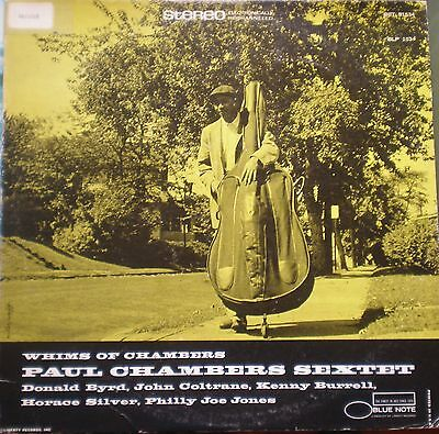 # Paul Chambers Sextet WHIMS OF CHAMBERS BLUE NOTE USA LP-C00378
