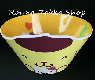 New Japan Licensed Sanrio Original Pompompurin Purin Dog styrene resin bowl