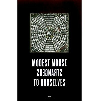 MODEST MOUSE Strangers To Ourselves 2015 Ltd Ed RARE Poster +FREE Indie Poster!
