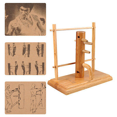 New C101 Bruce Lee Wing Chun Wooden Dummy Training Wood Crafts Model D1