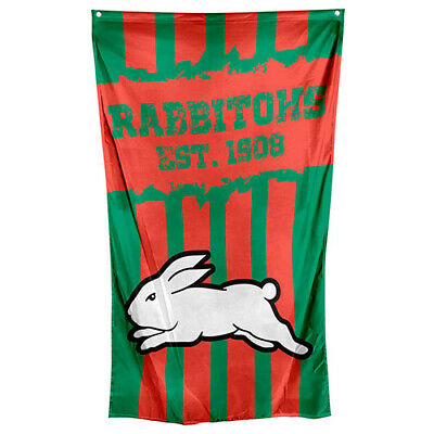 South Sydney Rabbitohs NRL Cape Wall Flag Banner Man Cave Game Day Christmas