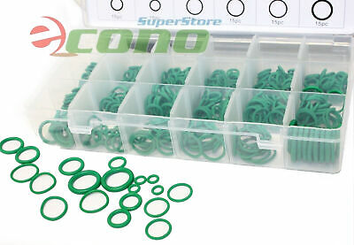 420pc Hydrogenated Nitrile Butadiene Rubber AC O-Ring Assortment 18 Popular Size