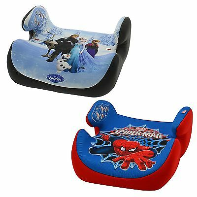 Nania Topo Comfort Childrens/Child Marvel/Disney Car Booster Seat 4 - 12 Years