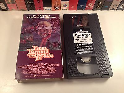 From Beyond The Grave Rare Amicus Horror Anthology VHS 1974 Peter Cushing HTF