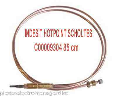 thermocouple INDESIT C00009304 85 cm  pour INDESIT HOTPOINT SCHOLTES