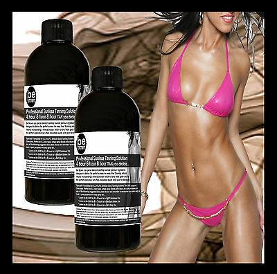Be Brown Professional Sunless Spray Tan Tanning Solution 4 ALL Skin Types 400mls