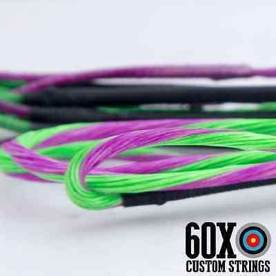 """60X Custom Strings 57/"""" D97 Compound Bowstrings Bow String"""